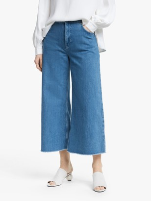 Mother of Pearl Wide Leg Organic Cotton Jeans