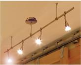 LBL Lighting Monorail 4-Light Straight Full Track Lighting Kit