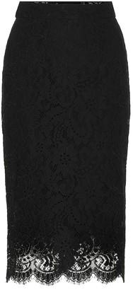 Dolce & Gabbana Scalloped lace pencil skirt