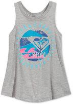 Roxy Graphic-Print Tank Top, Little Girls (2-6X)