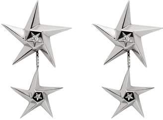 Daou Jewellery Star Drop Earrings