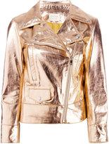 Lex Lab - biker jacket - women - Lamb Skin/Viscose - 40
