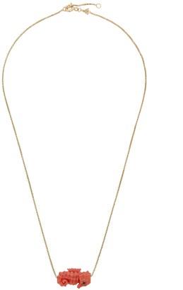 ALIITA Cavallito De Mar 9kt gold necklace