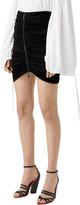 Burberry Ruched Mini Skirt