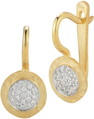 I. Reiss 14K 0.19 Ct. Tw. Diamond Earrings