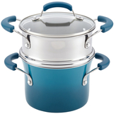 Rachael Ray Gradient Non-Stick Saucepot and Steamer Insert Set (3 PC)