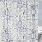 Creative Bath Seaside Fabric Shower Curtain