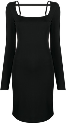 Helmut Lang Square Neck Dress