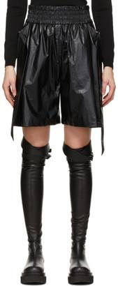 System Black Belted Shorts
