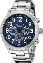Nautica Men's NAD16516G NCC 01 CHRONO Analog Display Quartz Watch