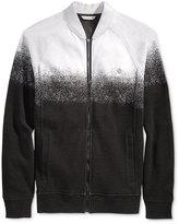 Calvin Klein Jeans Men's Jacquard Full-Zip Sweater