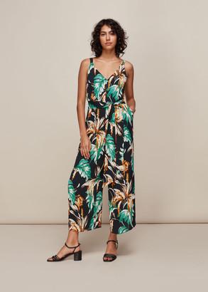 Tropical Floral Jumpsuit