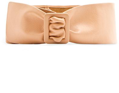 MANGO Leather Waist Belt