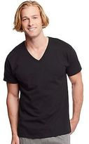 Hanes Classics Men's Traditional Fit ComfortSoft TAGLESS V-Neck Undershirt 3Pk