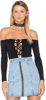 NBD Kendall Bodysuit in Black. - size S (also in XL,XS)