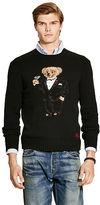 Polo Ralph Lauren Tuxedo Bear Wool-Blend Sweater