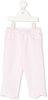 Il Gufo Scalloped-Hem Straight-Leg Trousers