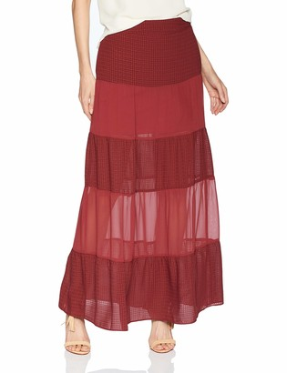 BCBGeneration Women's Tiered Maxi Skirt