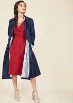 ModCloth Collectif A Prominent Polish Trench in XL