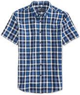 American Rag Men's Sanders Plaid Cotton Shirt, Only at Macy's