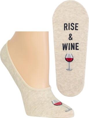 Hot Sox Women's Fun Novelty Liner Socks