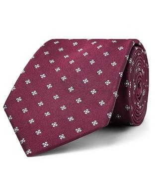 Bigi 8cm Silk-Jacquard Tie