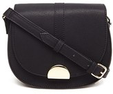 Forever 21 FOREVER 21+ Faux Leather Saddle Crossbody