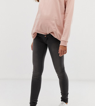 Mama Licious Mamalicious skinny jeans with stretch comfort panel