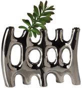 Torre & Tagus Rib 5-Tube Vase