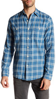 Faherty Seasons Plaid Long Sleeve Regular Fit Shirt