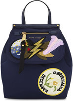 Marc Jacobs Embellished zip backpack