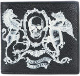 Alexander McQueen skull coat of arms wallet