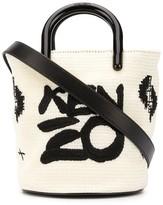 Kenzo Ikat logo bucket bag