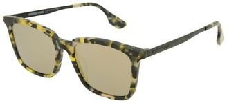 Alexander McQueen Unisex Mq0070sa 52Mm Sunglasses