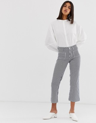 2nd Day June pinstripe trousers