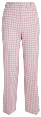 Paco Rabanne Check Trousers
