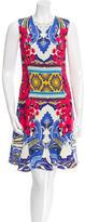 Etro Sleeveless Paisley Dress