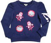 Kenzo Floral Patches Cotton Sweatshirt