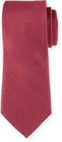 Neiman Marcus Woven Silk Tie, Red