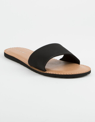 Volcom Simple Slide Black Womens Sandals