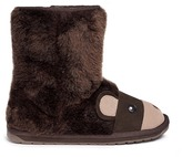 Emu 'Brown Bear' Merino wool kids boots