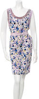 Kenzo Silk Printed Dress w/ Tags