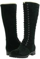 Cole Haan Air Becca Tall Boot (Black Suede) - Footwear