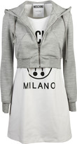 Moschino Two-Piece Effect Hooded Dress