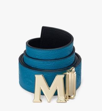 "MCM Claus M Reversible Belt 1.75"" in Monogram Leather"