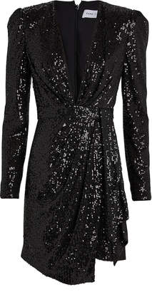 Fame & Partners Mana Sequin-Embellished Mini Dress