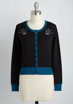 Banned Can You Sparrow a Moment? Cardigan in Black