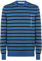 Givenchy Striped Crew Neck Sweater