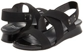 Stuart Weitzman Guybands (Black Nappa) - Footwear