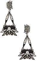 Lulu Frost Ombre Crystal Drop Earrings